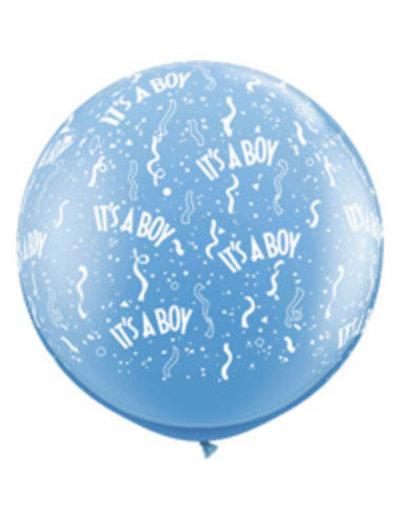 Ballon It's a Boy - 90cm  Qualatex