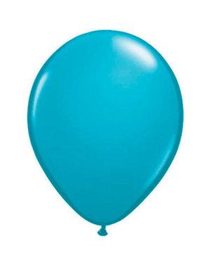 Ballonnen Tropical Teal 13cm - 20stk