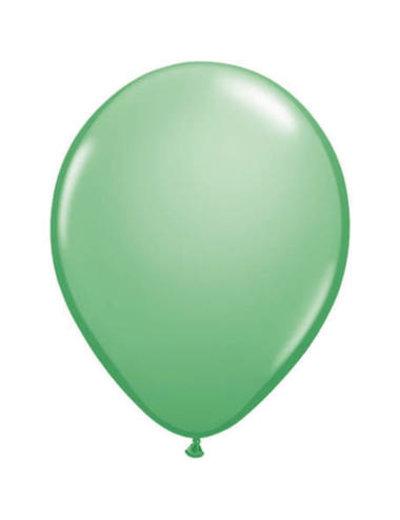 Ballonnen Winter Green 13cm - 20stk