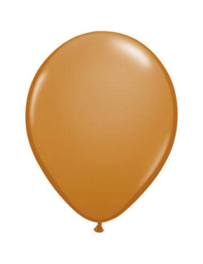 Ballonnen Mokka Bruin 13cm - 20stk