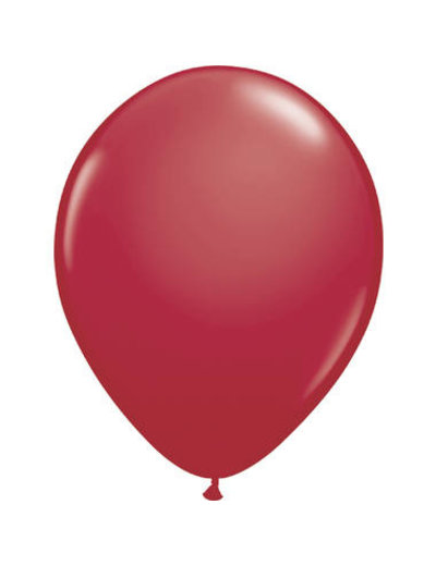 Ballonnen Bordeaux Rood 13cm - 20stk