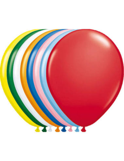 Ballonnen Gekleurd  Metallic 13cm - 20stk