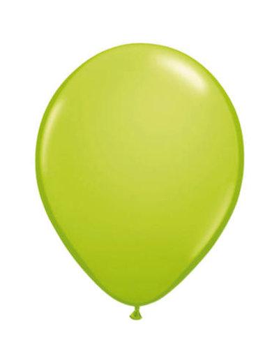 Ballonnen Lime Groen 30cm - 10, 50, 100stk