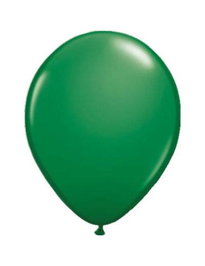 Ballonnen  Groen Metallic  30cm - 10, 50, 100stk