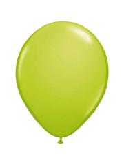 Ballonnen Lime Groen Metallic 30cm - 10, 50, 100stk
