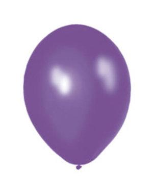 Ballonnen Paars Metallic 30cm - 10, 50, 100stk