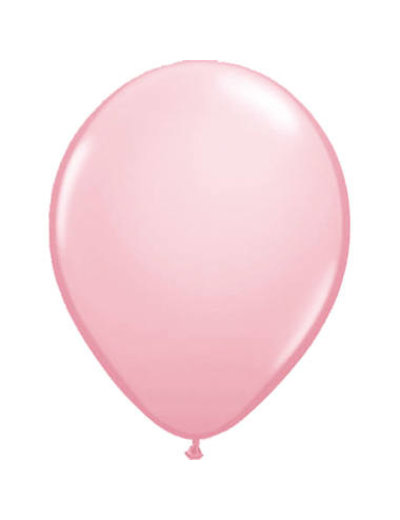 Ballonnen Baby Roze Metallic  30cm - 10, 50, 100stk