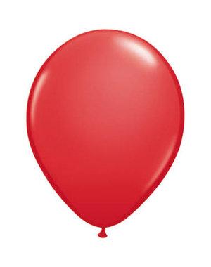 Ballonnen  Rood 30cm - 10, 50, 100stk