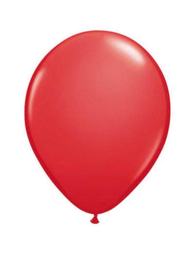 Ballonnen Rood 13cm - 20stk