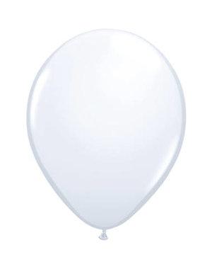 Ballonnen  Wit 30cm - 10, 50, 100stk
