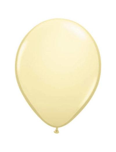 Ballonnen Ivoor Metallic 30cm - 10stk