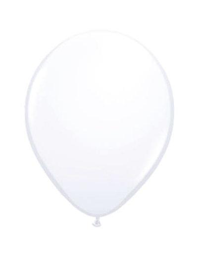 Ballonnen Wit 13cm - 20stk