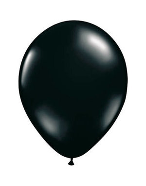 Ballonnen Zwart 30cm - 10, 50, 100stk