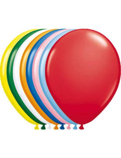 Ballonnen Gekleurd 30cm - 10, 50, 100stk