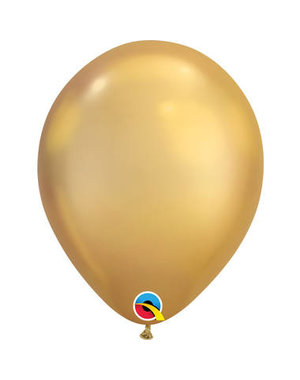 Ballonnen Goud Chroom 28cm  - 100stk