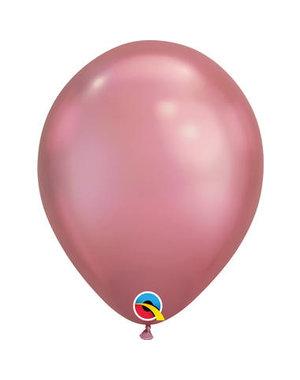 Ballonnen Roze Chroom 28cm  - 100stk