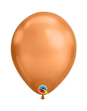 Ballonnen Koper Chroom 28cm  - 100stk