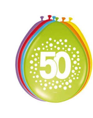 Ballonnen 50 Jaar Stippen