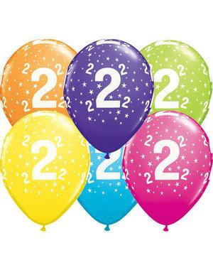 Ballonnen  Assorti 2 Jaar - 25stk