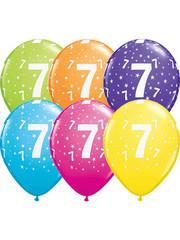 Ballonnen  Assorti 7 Jaar - 25stk