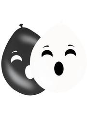 Ballonnen Spook - 8stk