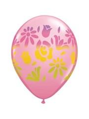 Ballonnen Flower 41cm - 50stk