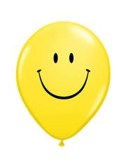 Ballonnen Smiley 28cm - 25stk