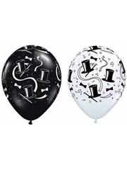 Ballonnen Hoge Hoed  28cm - 100stk