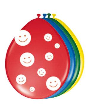 Ballonnen Little Smiley's  Assorti - 8stk