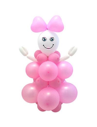 Ballonnen Knutsel Set  - Meisje