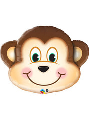 Folieballon Monkey face
