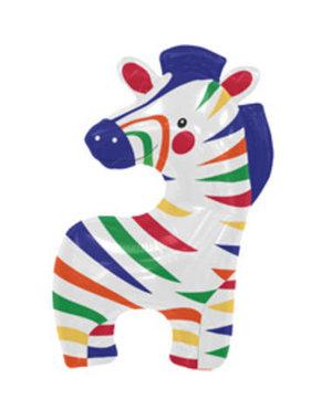 Folieballon Funny Zebra