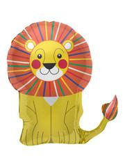 Folieballon Leeuw