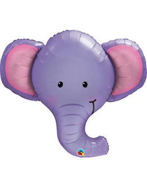 Folieballon Olifant