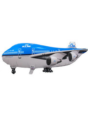 Folieballon KLM Vliegtuig - 95x45cm