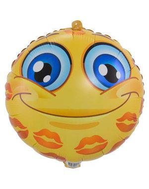 Folieballon Emoticon Kisses - 45cm