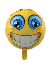 Folieballon Emoticon Smile - 43cm