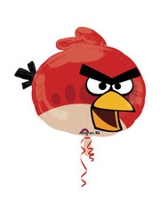 Folieballon Angry Birds Red