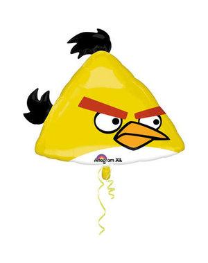 Folieballon Angry Birds Yellow