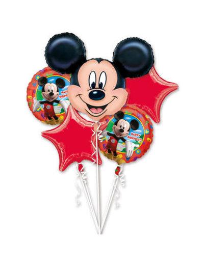 Folieballon Boeket Mickey Mouse