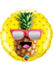 Folieballon Funny Ananas - 45cm