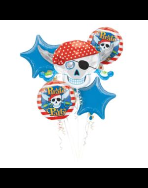 Folieballon Boeket Piraten