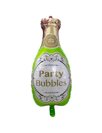Folieballon Champagnefles - 45x92cm