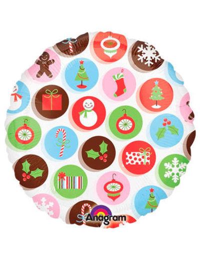 Folieballon Kerst