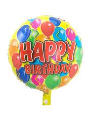 Folieballon  Happy Birthday Balloons  - 43cm