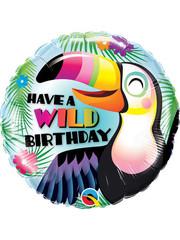 Folieballon Have a Wild Birthday - 45cm