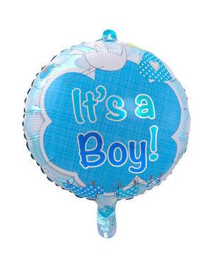 Folieballon It's a Boy - 43cm