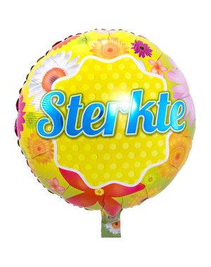 Folieballon Sterkte - 43cm