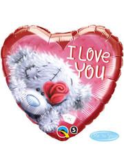Folieballon I Love You Beertje - 46cm