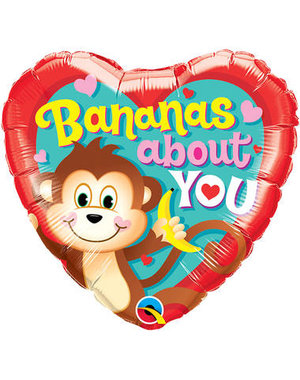 Folieballon Bananas About You - 45cm